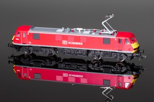 "Hornby Model Railways Class 90 ""DB SCHENKER"" running No. 90 029 model R3350"