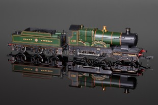 "Bachmann ""City of Bath"" City Class 3433 GWR Garter Crest 31-726"
