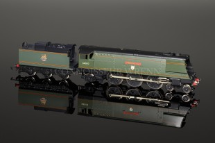 "Wrenn ""SIDMOUTH"" Streamlined Bulleid Pacific 4-6-2 BR GREEN Loco W2291"