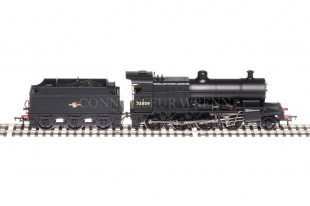 Bachmann Class 7F BR Black 53809 Late Crest 21PIN DCC READY 31-011