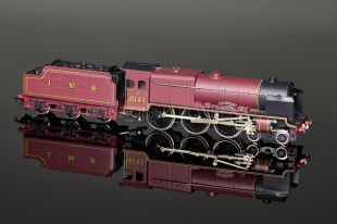 "Wrenn W2260A ""Caledonian 6141"" Royal Scot Class 6P 4-6-0 LMS Maroon Locomotive"