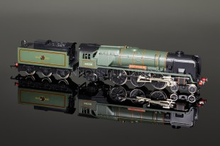 "Wrenn W2287 ""Westward Ho"" BR Green 34036 4-6-2 Rebuilt Bulleid Pacific Class Locomotive"
