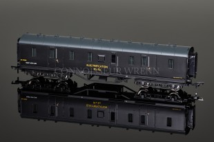 Bachmann BR Dept. Electrification 50ft Stanier Parcels Van 34-330