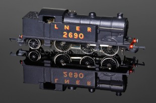 "Wrenn ""L.N.E.R 2690"" unlined Black Class N2 Tank 0-6-2T Locomotive W2217A"