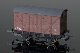 Wrenn BR Brown Ventilated Van B 757051 12T Alternative Rolling Stock W4318X