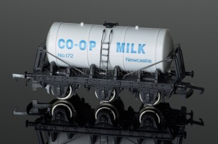 "Wrenn Milk Tank Wagon ""CO-OP NEWCASTLE"" PERIOD 4 SHORT BOX W5086"