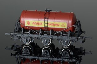 "Wrenn SIX WHEELED Tank Wagon ""DOUBLE DIAMOND"" Rolling Stock W5044"