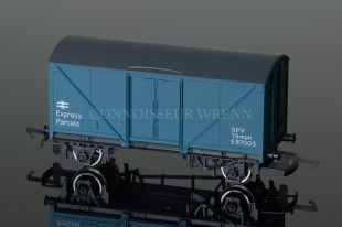 "Wrenn B R Blue ""Express Parcels"" Parcels Van PERIOD FOUR (P4) W5012"