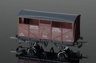 Wrenn Limited Edition MANOR FARM 8 TON CATTLE WAGON Rolling Stock W5504