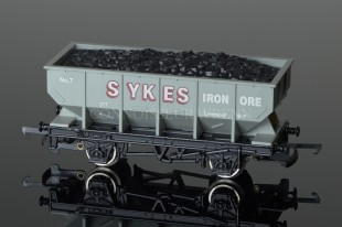 "Wrenn Hopper Wagon ""Sykes Iron Ore No.7"" Grey Rolling Stock W5082"