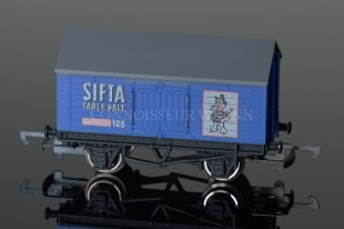 "Wrenn Salt Wagon ""SIFTA TABLE SALT"" 10T Low Roof Van Rolling Stock W4666"