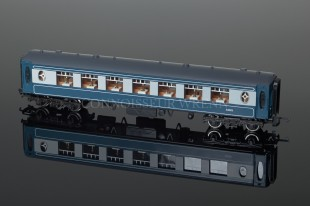 "Wrenn 2nd Class ""PULLMAN"" PERIOD 4 Blue Passenger Coach W6004"