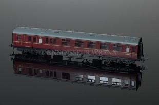Bachmann Branch-Line Model Railways BR Maroon Collett Brake 2nd Coach 34-176