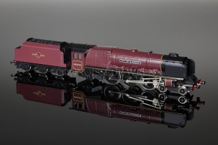 "Wrenn BR MAROON ""City of Glasgow"" 4-6-2 Duchess Class 8P Locomotive W2315"