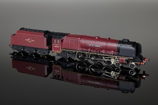 "Wrenn ""City of Carlisle 46238"" Duchess Class 8P 4-6-2 BR Maroon Locomotive W2226A"