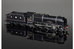 "Wrenn ""Queen Victoria's Rifleman 6160"" Royal Scot Class 6P 4-6-0 LMS Black W2261/A"