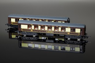 "Wrenn W3006/7 ""Brighton Belle"" Pullman Box Set Brown & Cream Livery"