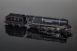 "Wrenn ""Duchess of Hamilton 6229"" Duchess Class 8P 4-6-2 LMS Black Locomotive W2241"