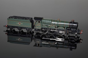 "Wrenn 4-6-0 Castle Class ""Bristol Castle"" BR Green PERIOD 4 Locomotive W2221A"