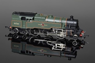 Wrenn W2270 BR Lined Green Standard Tank 2-6-4t running number 80135 Locomotive