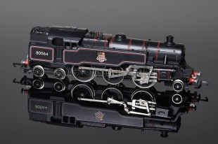 Wrenn W2218A BR Black Standard Tank 2-6-4t running number 80064 Locomotive