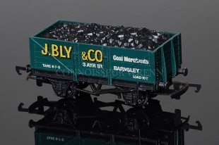 "Wrenn Coal Wagon ""J.BLY & CO"" Barnsley alternative 10T open with load model ref. W5000"
