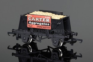 "Wrenn Ore Wagon ""CARTER & CO AGGREGATES"" (Presflo Body) W5025"