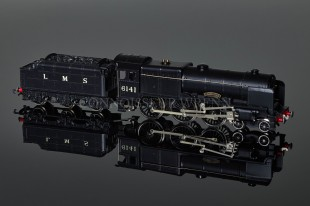 "Wrenn ""Caledonian 6141"" Royal Scot Class 6P 4-6-0 LMS Black Locomotive W2293"