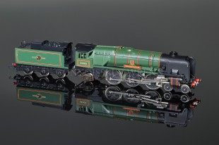 "Wrenn W2235 ""Barnstable"" BR Green 4-6-2 Rebuilt Bulleid Pacific Locomotive"