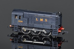 Wrenn LMS Black Livery Class 08 Tank 0-6-0DS Locomotive W2233