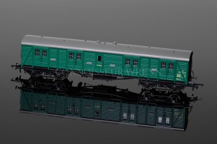 Hornby Model Railways SR Green BOGIE Passenger Brake (S 204 S) R4536A