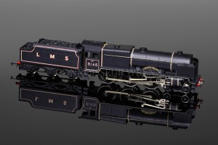 "Wrenn ""THE RIFLE BRIGADE 6146"" Royal Scot Class 6P 4-6-0 LMS Black W2403"