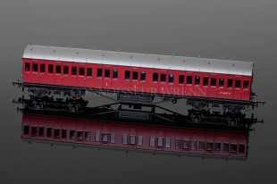 Hornby Model Railways BR (Ex-LMS) Non-Corridor Composite Coach model R4658