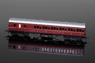 Hornby Railways LMS Maroon Non Corridor 3rd Brake Coach model R4677