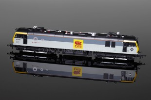 "Hornby Model Railways EWS Class 92 ""WAGNER"" Running No. 90 019 model R3347"