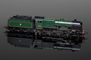 "Hornby Patriot Class ""Bradshaw"" 4-6-0 BR Green running no. 45518 model R3278"