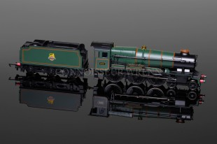 "Hornby County Class ""County of Hants"" 4-6-0 BR Green running no. 1016 model R3279"