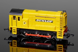 "Wrenn ""DUNLOP"" Yellow Class 08 Tank 0-6-0DS Locomotive W2243"