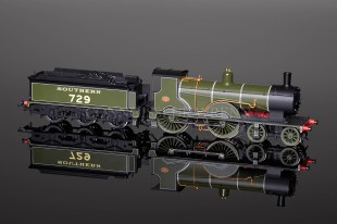 Hornby DCC FITTED Southern 4-4-0 Class T9 NO.729 Locomotive R2711