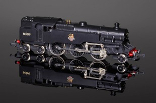Wrenn BR Black UNLINED Standard Tank 2-6-4t running number 80079 Locomotive W2307