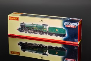 Hornby BR Green Kidwelly Castle 4098 steam locomotive model R2897XS