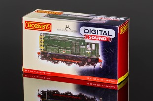 "Hornby Class 08 ""BR GREEN"" D3963 Diesel Electric Shunter model R3037XS"