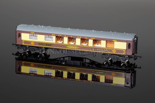 "Wrenn 1st Class Pullman Car ""Cecilia"" WHITE TABLE Golden Arrow Coach W6012A"
