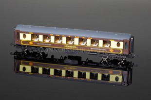 "Wrenn 1st Class Parlour Car ""Cygnus"" WHITE TABLE Golden Arrow Coach W6012C"