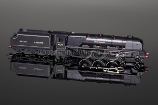 "Hornby ""City of Leicester 46252"" BR Black 4-6-2 Duchess Class 7P Locomotive DCC R2722"