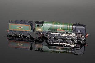 "Wrenn ""Dorchester 34042"" 4-6-2 BR Green Rebuilt Bulleid Pacific Locomotive W2236"