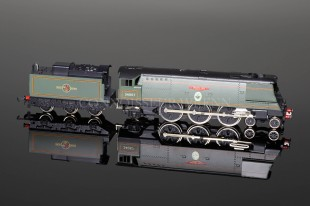"Wrenn ""BIGGIN HILL"" BR Green 4-6-2 LTD EDITION Streamlined Bulleid W2416"