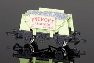 "Wrenn W5017 Ore Wagon ""PYCROFT GRANITE"" (Presflo Body) Rolling Stock"