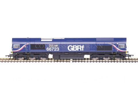 """Hornby """"GBRf CHINOOK"""" CO CO DIESEL ELECTRIC Class 66 no. 66723 model R3076"""