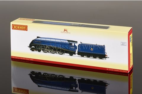 """Hornby BR Blue 4-6-2 A4 Pacific 8P """"GOLDEN EAGLE 60023"""" R3320"""